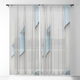 line of sight Sheer Curtain