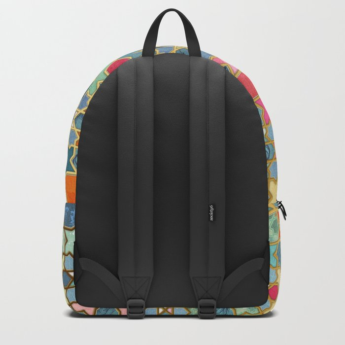 Gilt & Glory - Colorful Moroccan Mosaic Rucksack