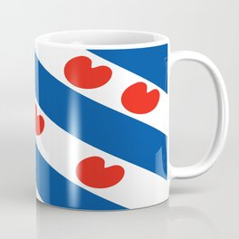 Frisian Friesland region netherlands country flag Dutch province Coffee Mug