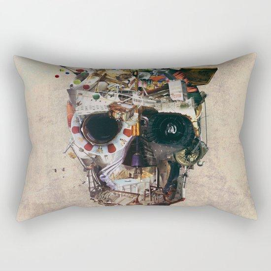 Istanbul Skull 2 Rectangular Pillow