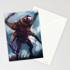 Quad armed mech Stationery Cards