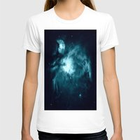nebula T-shirts featuring Orion nebula : Teal Galaxy by 2sweet4words Designs