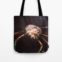 pivot Tote Bags featuring Pivot Pincers by Pan Kelvin