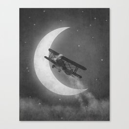 Night Flight  Canvas Print