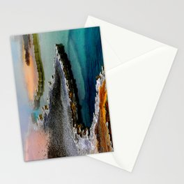 Colorful Hot Spring Yellowstone  Stationery Cards