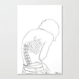 BackBone Canvas Print