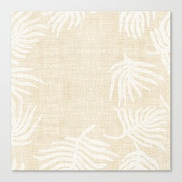 PALM LINEN Canvas Print