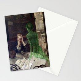 """The Absinthe Drinker"" by Viktor Oliva (1928) Stationery Cards"