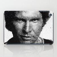 han solo iPad Cases featuring Han Solo - Scoundrel by Vesuvius Charleston (J. Webb)
