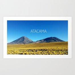Atacama Desert - Chile Art Print