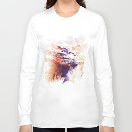 Craving for serenity Long Sleeve T-shirt