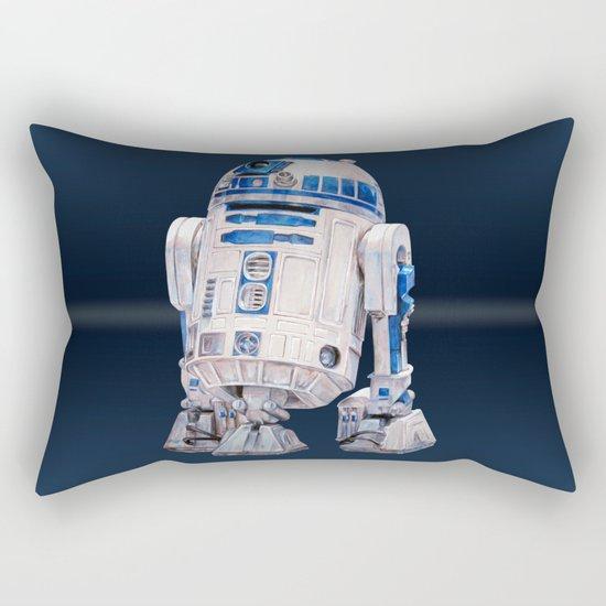 R2 D2 - Star Wars Rectangular Pillow