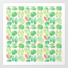 minimalist spring Art Print