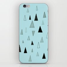 Raining Triangles iPhone & iPod Skin