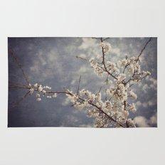 White Blossom Rug