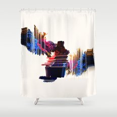 psychedelic Love Shower Curtain