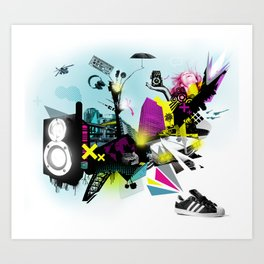 Why Sneakers Smell Art Print