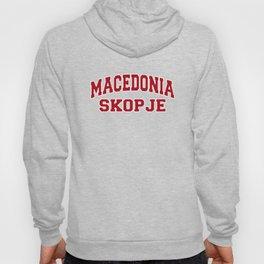 Skopje Macedonia City Souvenir Hoody
