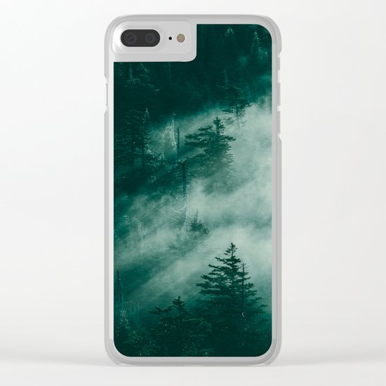 The Beckoning of the Unknown Clear iPhone Case