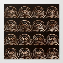 The Eyes of Manon Canvas Print