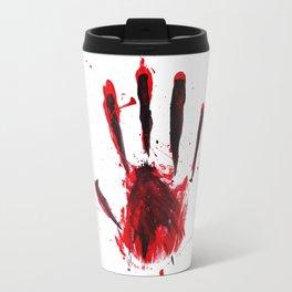 Red Handed Travel Mug