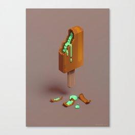 3D Ice-cream Canvas Print