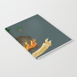 It's the specialty of the cave! Notebook