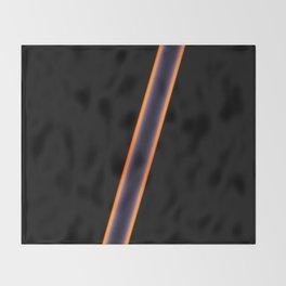 Black Stripes Throw Blanket