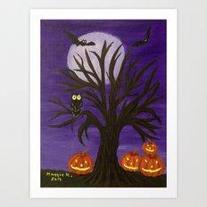 Halloween-2 Art Print