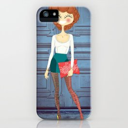 Lady Lady iPhone Case