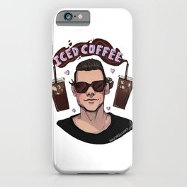 Iced Coffee Haz iPhone Case
