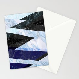 Marble stone ( frozen ) Stationery Cards
