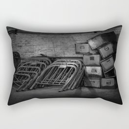 Growing Old - Traces of Interior Life in a Forgotten Place Rectangular Pillow