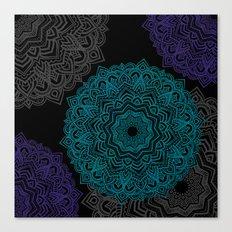 My Spirit Mandhala | Secret Geometry Canvas Print