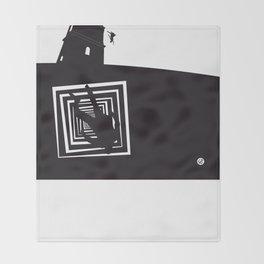 The Black Collection' Vertigo Throw Blanket