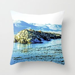 Magnificent nature. Throw Pillow