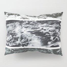 Saltwater Trytych Var II - blacks Pillow Sham