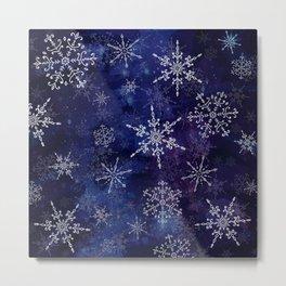Fiocchi di neve Metal Print