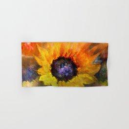 Sunflowers Art Hand & Bath Towel