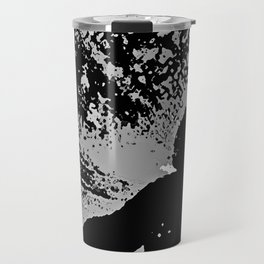 SLAM DUNK IN BLACK AND WHITE Travel Mug