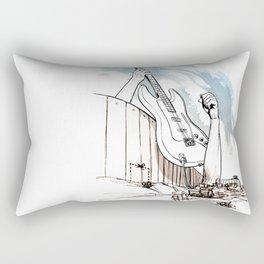 Peace Maker Rectangular Pillow