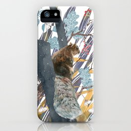 waiting for autumn iPhone Case