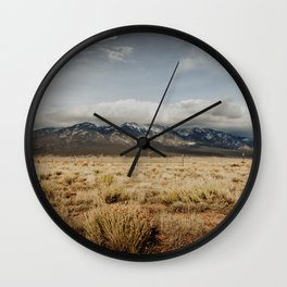 Great Sand Dunes National Park - Mountains Wall Clock