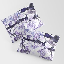 Chickadee In Spring Time Pillow Sham
