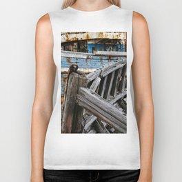 Ship Wreck Biker Tank