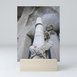 Passion Facade Sagrada Familia Mini Art Print