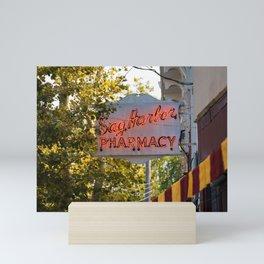 Sag Harbor Pharmacy Mini Art Print