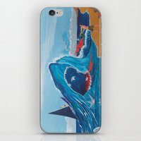 carnage iPhone & iPod Skins featuring Simulating   a carnage by Lázaro Hurtado Art