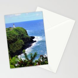 Kilauea Point Lighthouse Kauai by Reay of Light Stationery Cards