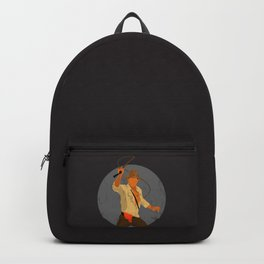 Indiana Cracked Texture Backpack